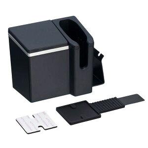 iQOS専用 電子タバコホルダー エアコン取付 車用 ヒートスティックBOX 吸殻入れ クリーナー装備 ネイビー アイコス/星光産業 ED-602