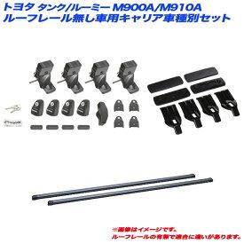 キャリア車種別セット タンク/ルーミー M900A/M910A H28.11〜 ルーフレール無し車用 INNO/イノー INSUT + IN-B137 + K491