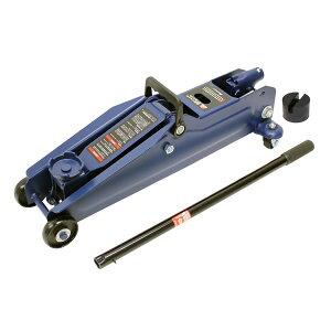 2.25t油圧ジャッキ ミドルリフト アタッチメント付 タイヤ交換 最高値/最低値 410/133mm 軽 中型 ミニバン メルテック/大自工業 FA-23
