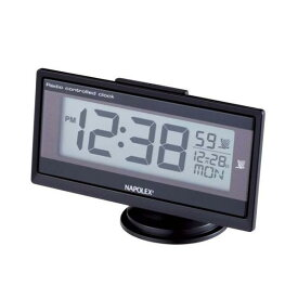 ナポレックス 薄型電波時計 3Dアクション角度調整可能 ブルーLED Fizz-960/