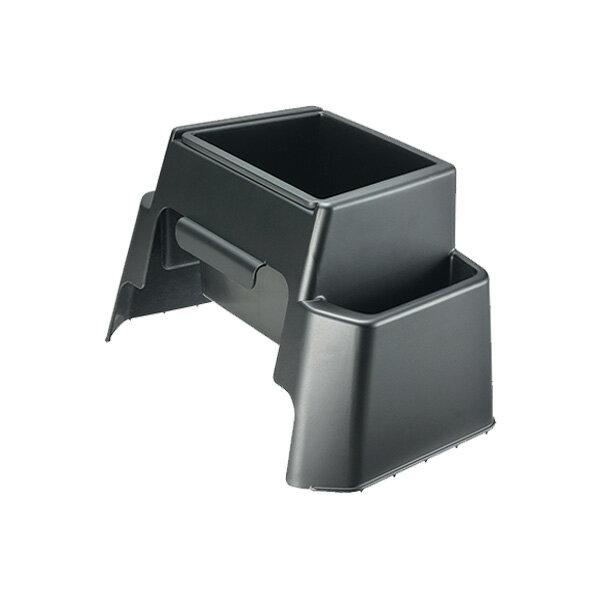 ノア/ヴォクシー 80 ごみ箱 ブラック 2ポケット付き 専用設計/カーメイト NZ548