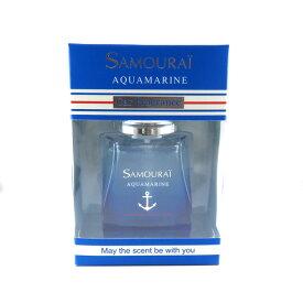 芳香剤 消臭剤 サムライ SAMOURAI カーフレグランス アクアマリンの香り 置き型 60ml SPRジャパン:332187