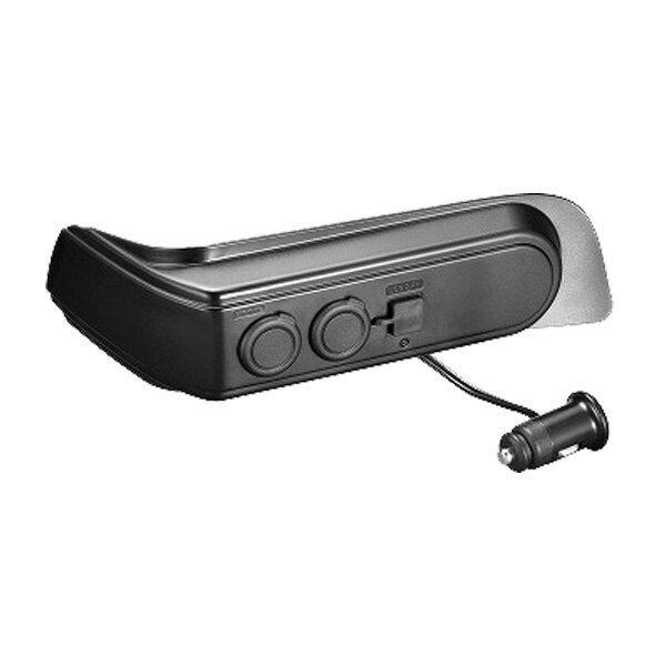 カーメイト/CARMATE 車種専用設計 増設電源ユニット セレナ用 ブラック カーソケット2口5A USB2ポート2.4A 最大5A NZ572