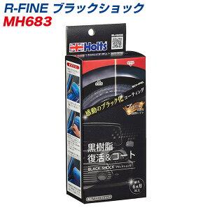 R-FINE ブラックショック 黒樹脂復活&コート 色あせ・劣化再発防止 MH-683
