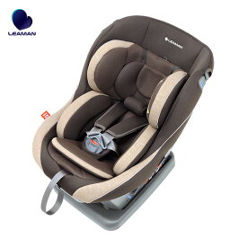 LEAMAN/リーマン チャイルドシート レスティロ3 CD117 メランジブラウン 新生児からOK 洗えるカバー ベルトキーパー搭載 日本製 79117