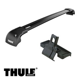 THULE/スーリー CR-V ルーフレールなし H18/10〜 RE3,RE4 キャリア 車種別セット/9592B+3042