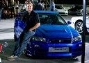 1/43 GreenLight☆ワイルドスピードMAX  2002 スカイライン GTR ブルー 【入荷しました!】ポイント5倍