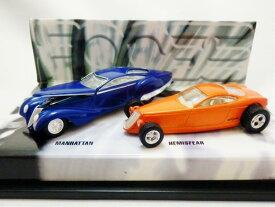 1/64 HotWheels☆MANHATTAN と HEMISFEAR の2台セット♪カスタムショー限定モデル  ■超レア!