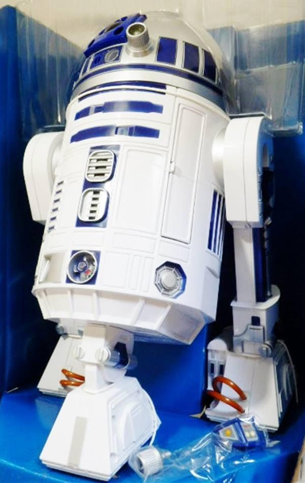 スターウォーズ  R2D2 / 巨大!全長 40cm!映画の様に、怒ったり、歌ったり動く♪ r2d2 数10種類の可動ギミック付き!数個のみ!! ポイント5倍
