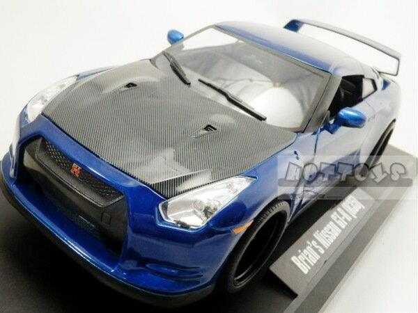 ミニカー 1/18 JadaTOYS☆ワイルドスピード 2009 スカイライン GTR 青/黒 特別限定モデル!【予約商品】