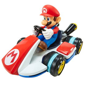 ◎マリオカート ラジコン/ 巨大!楽しい♪ラジコン マリオカート8 ♪ ゲームと同じように、横すべりも自由自在♪【予約商品】 マリオ おもちゃ