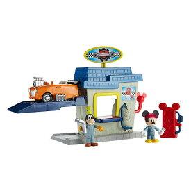 ◎ディズニー ミッキーマウス/ミッキーとグッフィーのガソリンスタンド♪ミッキーマウスとロードレーサーズ 【予約商品】