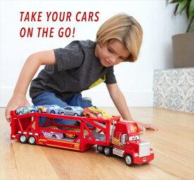 ◎ディズニーカーズ / 巨大!楽しい♪マックトラック 積載車セット♪ カーズ おもちゃ カーズ ミニカー【予約商品】