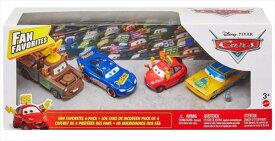 ディズニーカーズ ミニカー/マテル製 4台セット♪ FANFAVORITESセット  カーズ おもちゃ 【予約商品】