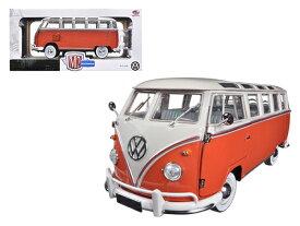 1/24 M2 machines☆1960 VW フォルクスワーゲン タイプ2 ワーゲンバス 赤/白色 【予約商品】