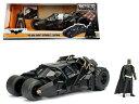 1/24 JadaTOYS/ バットマン バットモービル タンブラー黒 フィギュア付♪ バットマンダークナイト【予約商品】