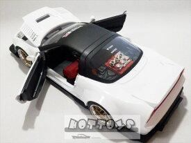 1/24 JadaTOYS☆2002 ホンダ NSX TYPE-R 白 JDM TUNERS ジョンシバルデザイン 限定モデル【予約商品】