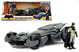ミニカー 1/24 JadaTOYS/ バットマン バットモービル バットマンVSスーパーマン バットマンフィギュア付き♪【予約商品】