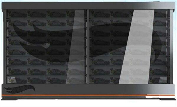 ミニカー 1/64用 50台収納可能! HotWheels ホットウィール ディスプレイケース ミニカー コレクションケース 【予約商品】