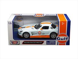 ミニカー■MOTORMAX■1/24 メルセデスベンツ SLS AMG GT3 GULF ガルフカラー 【予約商品】
