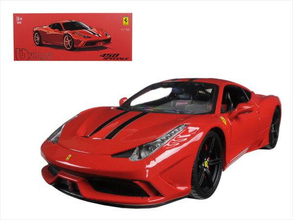フェラーリ ミニカー■ブラゴsignature■1/18 フェラーリ 458SPECIALE 赤  【予約商品】