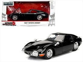 【ミニカー】 1/24 JadaTOYS☆1967 トヨタ2000GT JDM TUNERS 黒 限定モデル【予約商品】