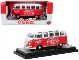 1/24 M2 machines☆1960 コカコーラ VW フォルクスワーゲン タイプ2 ワーゲンバス Coca-Cola 赤/白 【予約商品】
