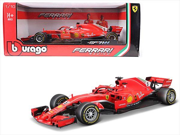 ■ブラゴ■1/18 フェラーリ F1 SF-71H S. Vettel #5 ベッテル【予約商品】