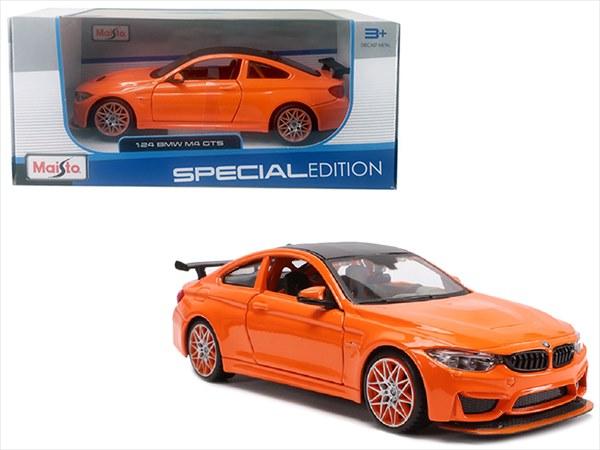 ミニカー 1/24 maisto☆ BMW M4 GTS オレンジ色 限定品【予約商品】