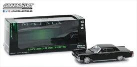 ミニカー 1/43 マトリックス劇中車 1965 リンカーン・コンチネンタル 黒 予約商品