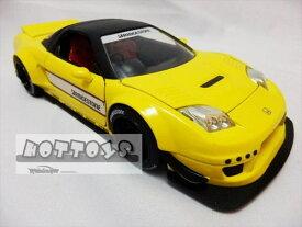 1/24 JadaTOYS☆2002 ホンダ NSX TYPE-R 黄色 JDM TUNERS ジョンシバルデザイン 限定モデル【予約商品】