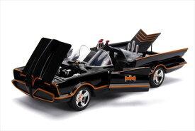 ミニカー 1/18 JadaTOYS/特別豪華モデル 1966年 バットマン TVシリーズ バットモービル フィギュア付♪ライト点灯【予約商品】ポイント5倍