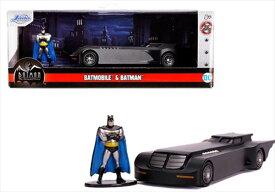 ミニカー 1/32 JadaTOYS/ バットマン バットモービル アニメ版 バットマンフィギュア付き♪【予約商品】