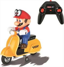 マリオカート ラジコン/Carrera 楽しい♪ラジコン マリオカート8 スクーター 黄色 【予約商品】 マリオ おもちゃ