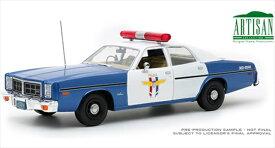 ミニカー 1/18 GREENLIGHT 1978 ダッジ・モナコパトカー ミニカー アメ車 青/白 限定品 1978 Dodge Monaco - Crystal Lake Police予約商品