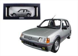 ミニカー■Norevノレブ■1/18 1988 プジョーPeugeot 205 GTI (grey)【予約商品】