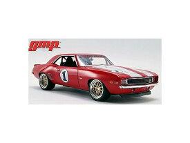 ミニカー 1/18 GMP☆1969 シボレー・カマロ 赤/白ストライプ色 【1050台限定予約商品】