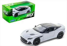 ミニカー 1/24 WELLY アストンマーチン DBSスーパーレッジェーラ 白 007ジェームズボンド ボンドカー ノー・タイム・トゥ・ダイ  Aston Martin DBS Superleggera 【予約商品】