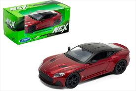 ミニカー 1/24 WELLY アストンマーチン DBSスーパーレッジェーラ 赤 007ジェームズボンド ボンドカー ノー・タイム・トゥ・ダイ  Aston Martin DBS Superleggera 【予約商品】