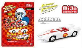 ミニカー 1/64 JohnnyLightning スピードレーサー / マッハ号 特別限定新ホイール仕様!【予約商品】