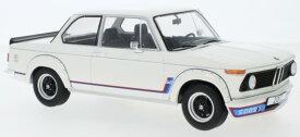 ミニカー 1/18 ModelCarGroup☆1973 BMW 2002 Turbo白色 限定品【予約商品】