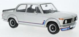 ミニカー 1/18 ModelCarGroup☆1973 BMW 2002 Turbo 銀色 限定品【予約商品】