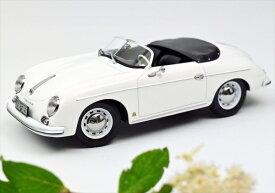 ミニカー 1/18 NOREVノレブ 1954 ポルシェ 356 スピードスター 白色 【予約商品】
