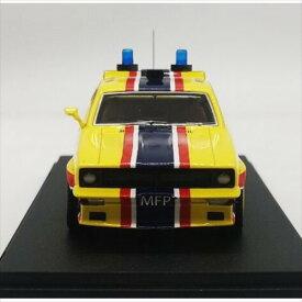 ミニカー 1/43☆マッドマックス BIG BOPPER XB PURSUIT 1974 フォード・ファルコンV8 インターセプター 黄色 MFP 4ドアセダン 「インターセプター」フォード XB ファルコン【限定品 予約商品】