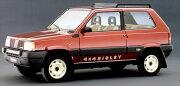ミニカーフィアットパンダ4x41/18LRM1980赤/黒色予約商品