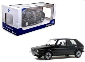 1/18 Solido☆1983 フォルクスワーゲン・ゴルフ 黒色1983 Volkswagen Golf L【予約商品】