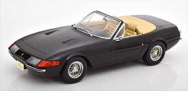 ミニカー 1/18 1969 フェラーリ 365 GTS デイトナ・スパイダー 黒 予約商品
