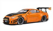 ミニカー1/18GTRLBワークス2020オレンジメタ色GTR35LBWorkType2【予約商品】