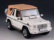 ミニカー1/43メルセデスベンツG500ゲレンデガブリオレ白GLM2012Mercedes-BenzG500CabrioletFinalEdition【予約商品】