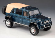 ミニカー1/43メルセデスベンツマイバッハG650ゲレンデガブリオレ幌付青メタGLMMercedes-BenzG650Maybach【予約商品】